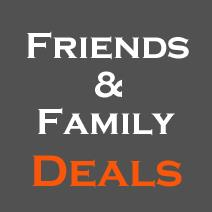 2017 Spring Friends & Family Deals Round-up, Special Edition