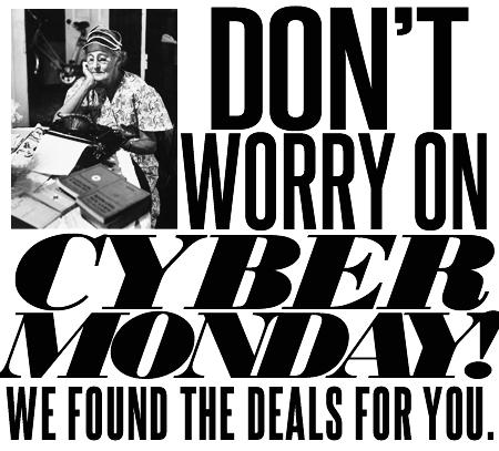2016 Cyber Monday Online Shopping Deals Round-up, Special Edition