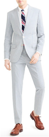 J. Crew - Ludlow Wide-lapel Suit in Japanese Seersucker