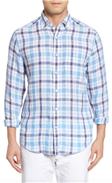 Vineyard Vines - Camanroe Murray Classic Fit Linen Sport Shirt