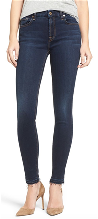7 For All Mankind - b(air) Ankle Skinny Jeans