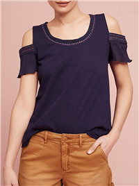 Akemi + Kin  - Salma Open-Shoulder Top