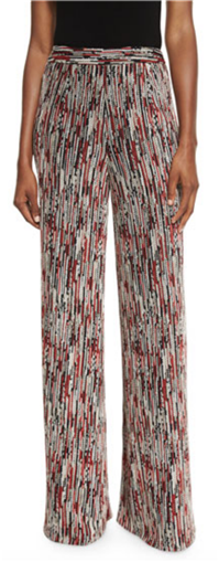 Alice+Olivia - Athena Super-Flare Wide Leg Pants