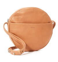 BAGGU - Pebbled Leather Crossbody Bag