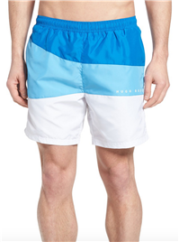BOSS Hugo Boss - Butterfly Fish Colorblock Swim Trunks