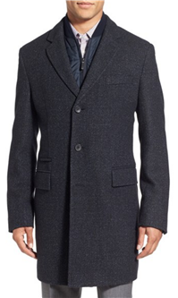 BOSS Hugo Boss - Nadim Wool Blend Overcoat
