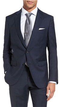BOSS Hugo Boss - Nova/Ben Trim Fit Solid Wool Suit