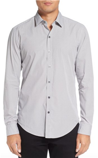 BOSS Hugo Boss - Robbie Sharp Fit Graphic Print Sport Shirt