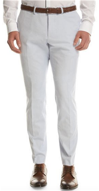 BOSS Hugo Boss - Stretch-Cotton Flat-Front Pants