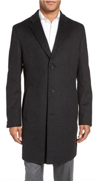 BOSS Hugo Boss - The Stratus Wool & Cashmere Overcoat