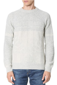 Billy Reid - Hex Directional Crew Sweater