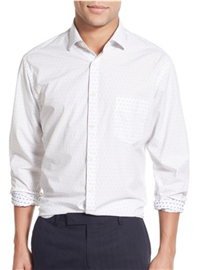 Billy Reid - John T Standard Fit Dot Sport Shirt