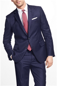 Brooks Brothers - Regent Fit Double Stripe 1818 Suit