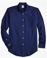 Brooks Brothers - Garment-Dyed Textured Sport Shirt