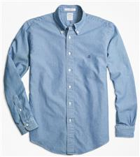 Brooks Brothers - Regent Fit Indigo Dyed Sport Shirt