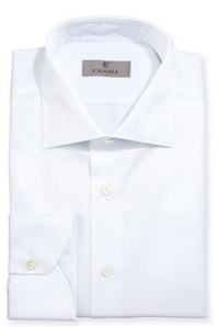 Canali - Modern-Fit Twill Dress Shirt