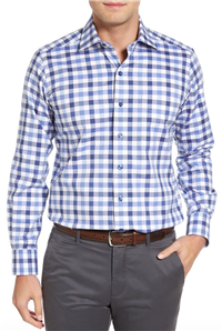 David Donahue - Regular Fit Check Sport Shirt