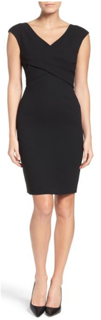Eliza J - Ponte Sheath Dress