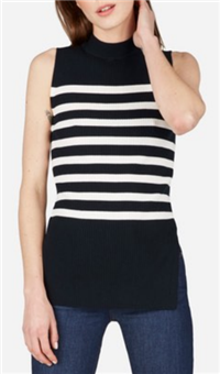 Everlane - The Breton Ribbed Cotton Sweater Tank