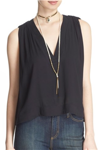 Free People - Darcy V-Neck Tank