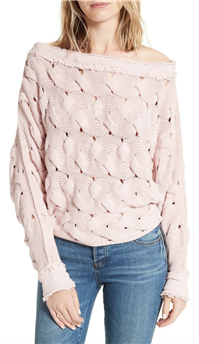 Free People - Desert Sands Cable Pullover