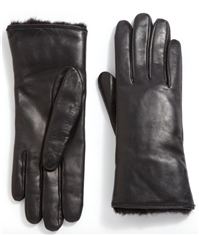 GFF - Mink Fur & Leather Gloves