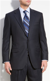 Hickey Freeman - Addison A-Series Wool Suit