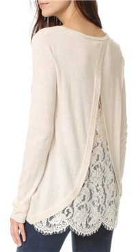 Joie - Marianna Lace Back Sweater
