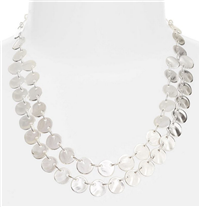 Karine Sultan - Ariane Coin Collar Necklace