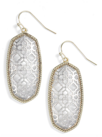 Kendra Scott - Elle Openwork Drop Earrings