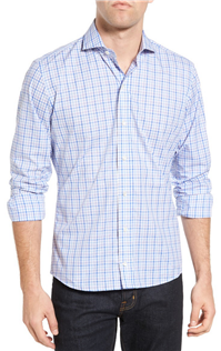 Ledbury - The Sulgrave Slim Fit Check Sport Shirt