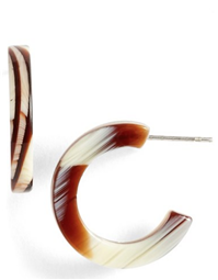 L.Erickson - Skinny Mini Hoop Earrings