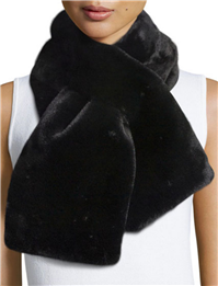 La Fiorentina - Faux-Fur Pull-Through Scarf