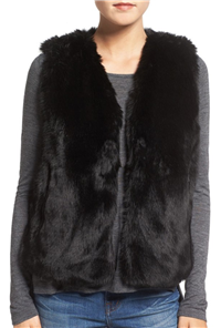 Madewell - Faux Fur Vest