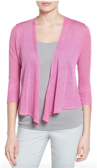 Nic+Zoe - 4-Way Convertible Three Quarter Sleeve Cardigan