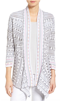 Nic+Zoe - Maze Meadows Stripe Cardigan
