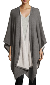 Neiman Marcus Collection - Cashmere Two-Toned Shawl