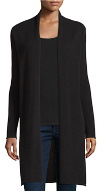 Neiman Marcus Cashmere Collection - Long Cashmere Duster Cardigan
