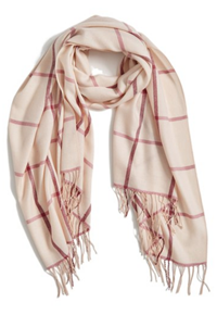 Nordstrom - Plaid Cashmere & Wool Scarf