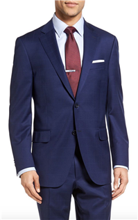 Peter Millar - Classic Fit Windowpane Wool Suit