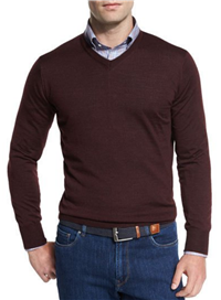 Peter Millar - Collection Merino-Silk V-Neck Sweater