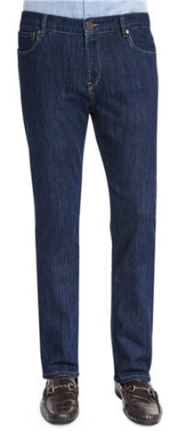 Peter Millar - Five-Pocket Straight-Leg Denim Jeans