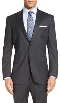Peter Millar - Flynn Classic Fit Check Wool Suit