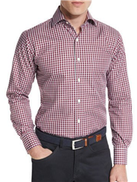 Peter Millar - San Juan Gingham Oxford Shirt