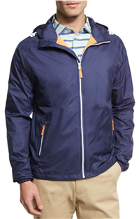 Peter Millar - Seaside Wind-Resistant Zip-Front Jacket