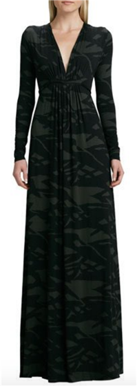 Rachel Pally - Pine Reflection Long Caftan Dress