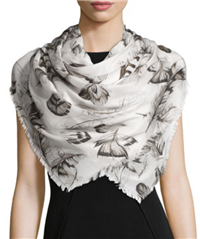 Roberto Cavalli - Floral Voile Scarf/Shawl