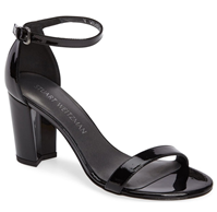 Stuart Weitzman - NearlyNude Ankle Strap Sandal