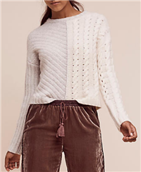 Shae - Cabled Pullover