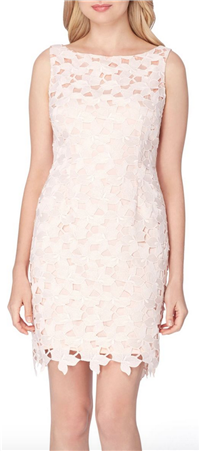 Tahari - Lace Sheath Dress